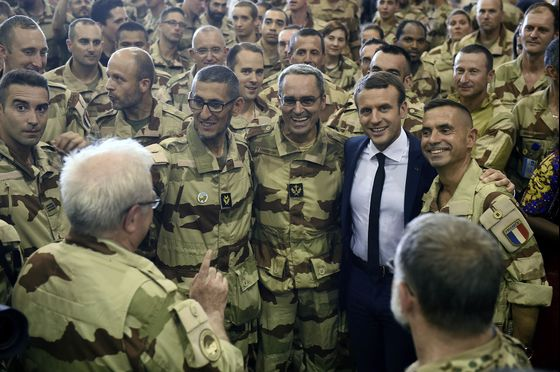 Macron Tours Africa as Latest French Leader Getting Bogged Down