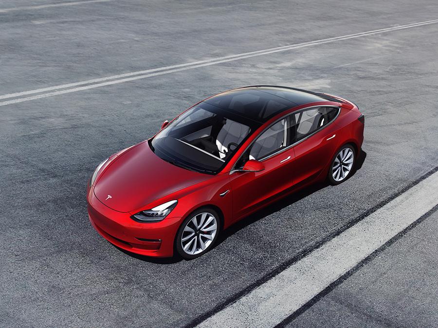 Tesla Inc.'s Model 3.