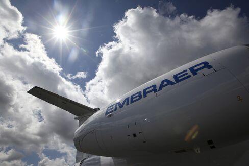 Embraer Sacrifices Margins for U.S. Jet Sales