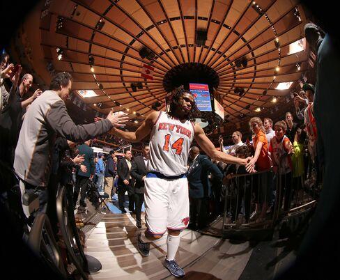 NY Knicks Player Chris Copeland