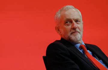 Jeremy Corbyn, leader of the U.K. opposition Labour Party
