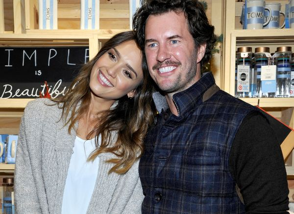 Jessica Alba And Toms Shoes Founder Blake Mycoskie