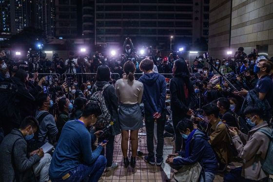 Pro-Democracy Activists Denied Bail in Hong Kong Subversion Case