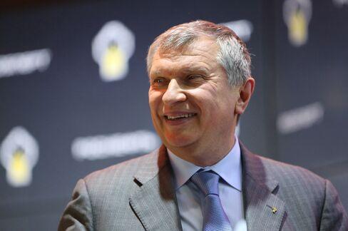 Rosneft Chief Executive Igor Sechin