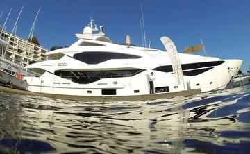 Luxury superyacht Zozo, built by Sunseeker International Ltd. Photographer: Chris Ratcliffe/Bloomberg