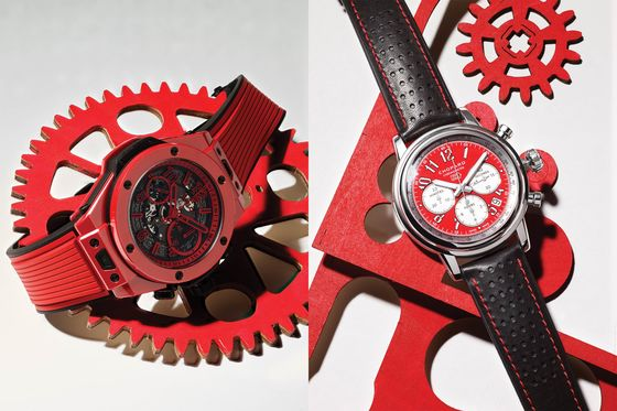 Red Dial Watches Are Impossible to Ignore