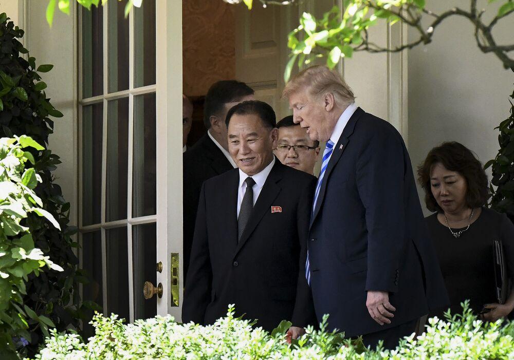 Trump Meets North Korean Official Amid Rising Summit Speculation