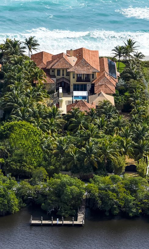 """A $26.5 million Ocean-to-Lake Estate in Palm Beach County, Fla., is certified """"green."""""""