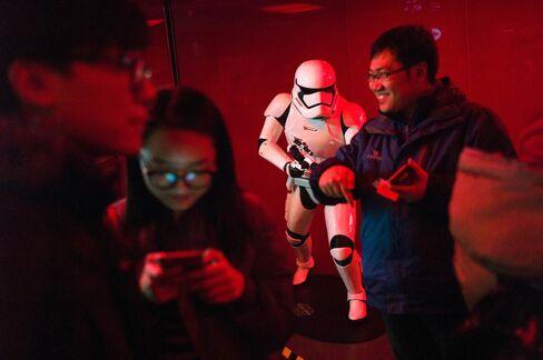 CHINA-US-ENTERTAINMENT-FILM-STAR WARS