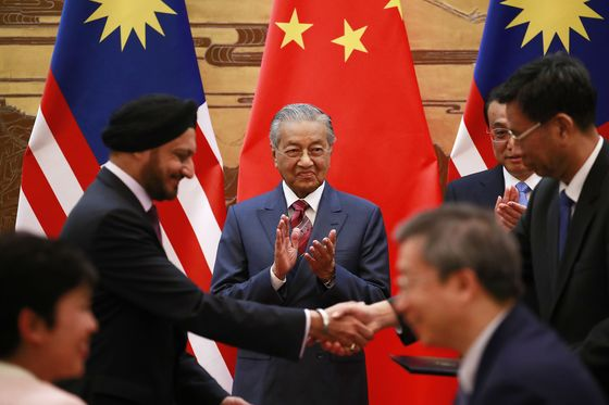 Mahathir Warns Against New 'Colonialism'During Visit to China