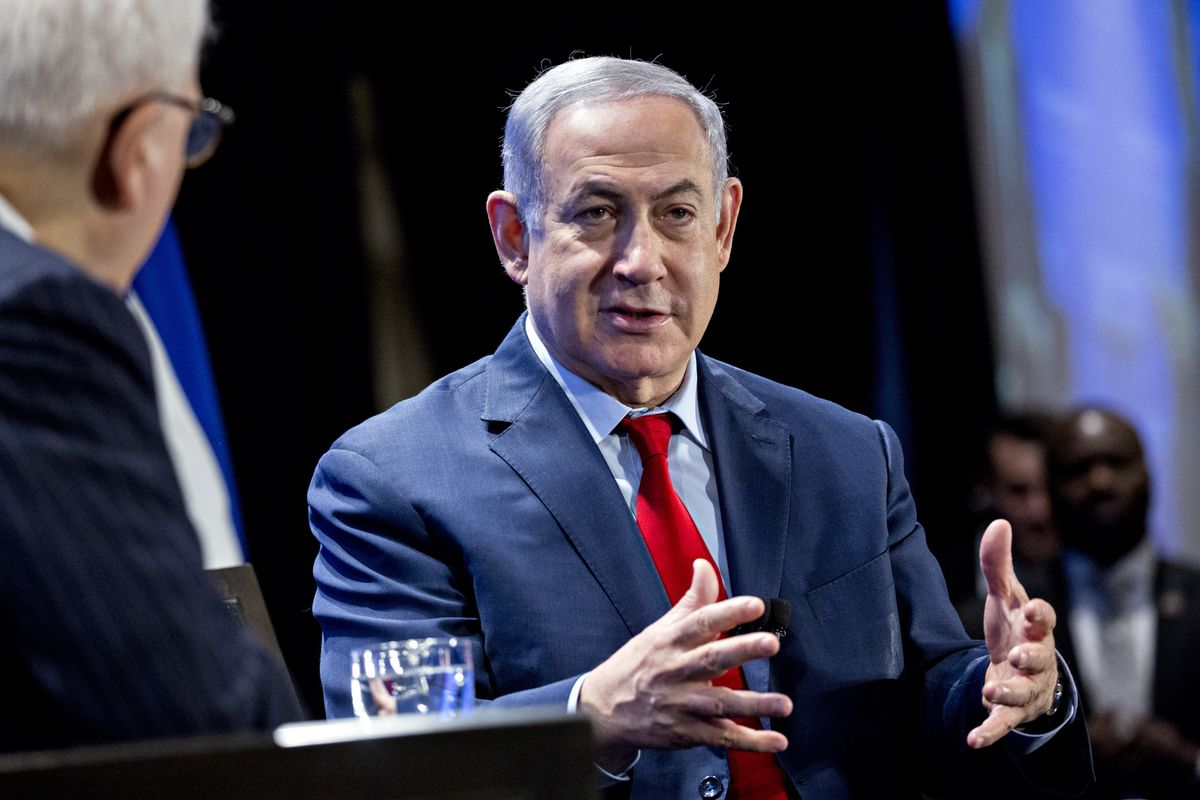 Netanyahu Warns U.S. Lawmakers About Saudi Nuclear Power Deal thumbnail