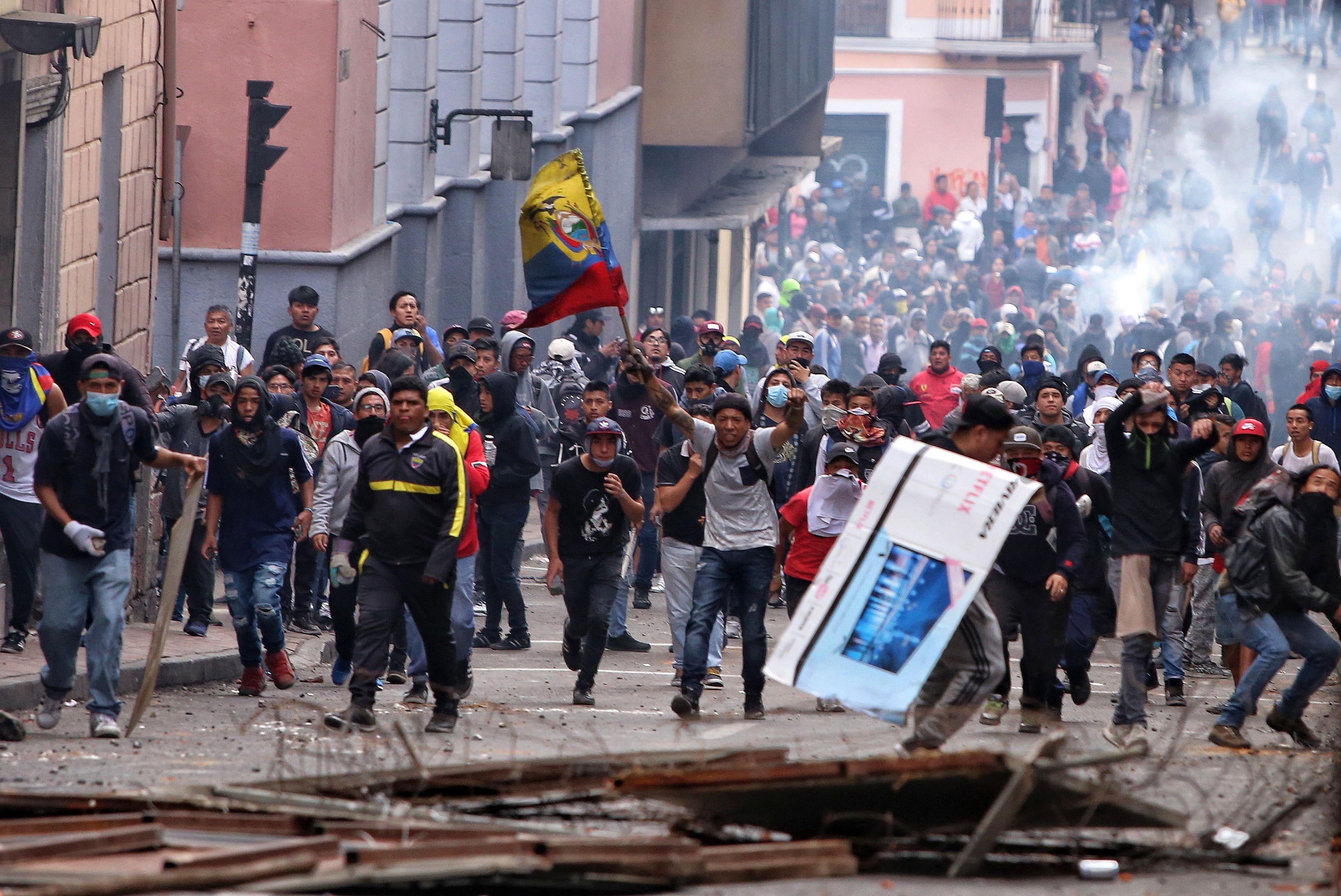 Image result for ecuador protests