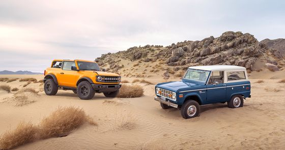 Ford Says Initial Demand for Spruced-Up Bronco Tops Expectations