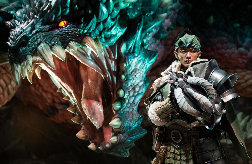 Monster Hunter World Debuts to Strong Reviews - Bloomberg