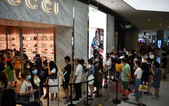 Rich Shoppers Stuck in China Fuel an Unlikely Boom in Duty Free