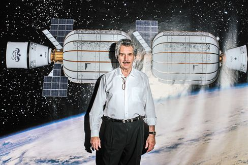 Robert Bigelow Plans a Real Estate Empire in Space