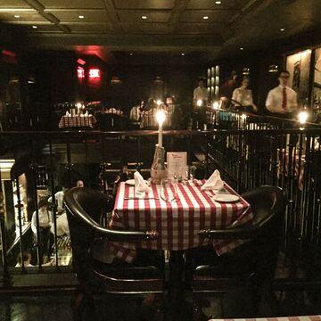 Sunday night table for 2, Mamma Guidara's.