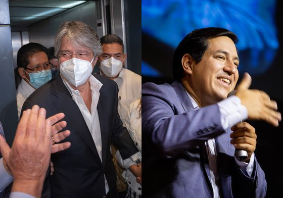 Lasso Leads in Ecuador Election With 86% of Votes Counted