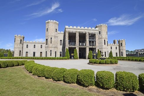 The 12,118-square-foot castle has 16beds and 16 baths.