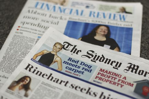 Fairfax to Cut 1,900 Workers Following Last Year's Record Loss