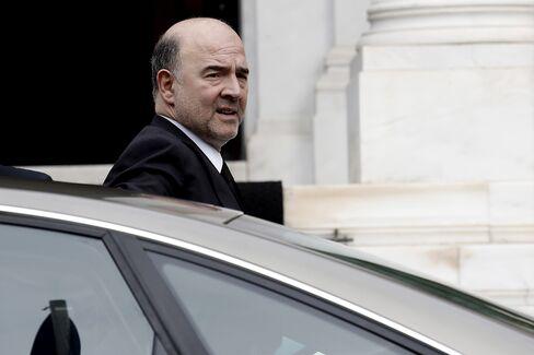 EU Economic and Tax Commissioner Pierre Moscovici