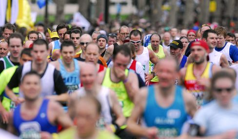 London Marathon Reviews Security After Blasts at Boston Race