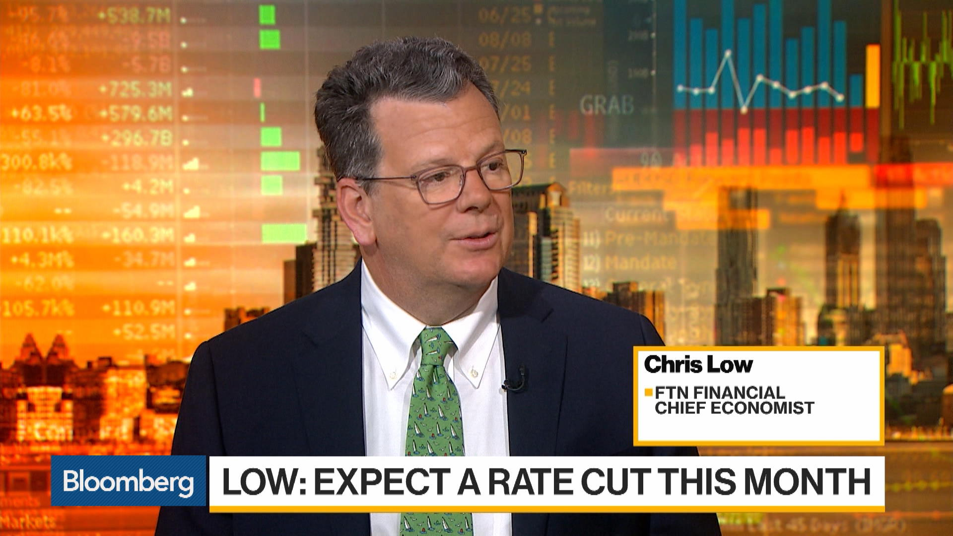 July Rate Cut Makes Sense, Says FTN Financial's Low