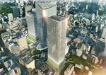 An artist's rendering of Mori Building Co.'s residential tower in Toranomon, Japan. Source: Mori Building Co.