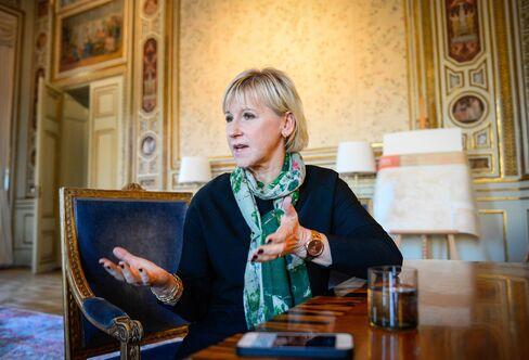 Foreign Minister Margot Wallstroem