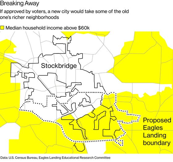 The Wealthy Atlanta Suburb Fighting to Secede From Its City