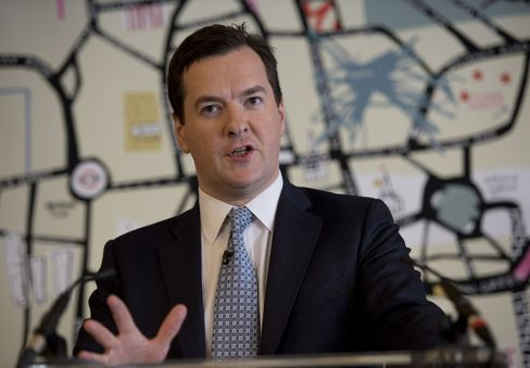 Chancellor of the Exchequer George Osborne