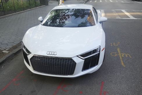 The V10 R8 can hit 60 mph in 3.5 seconds.
