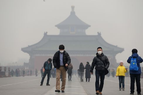 Pollution in Beijing