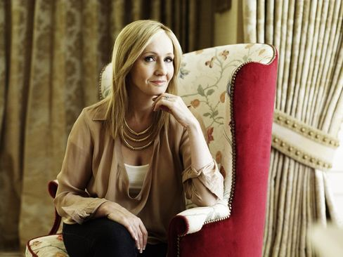 British Author J. K. Rowling