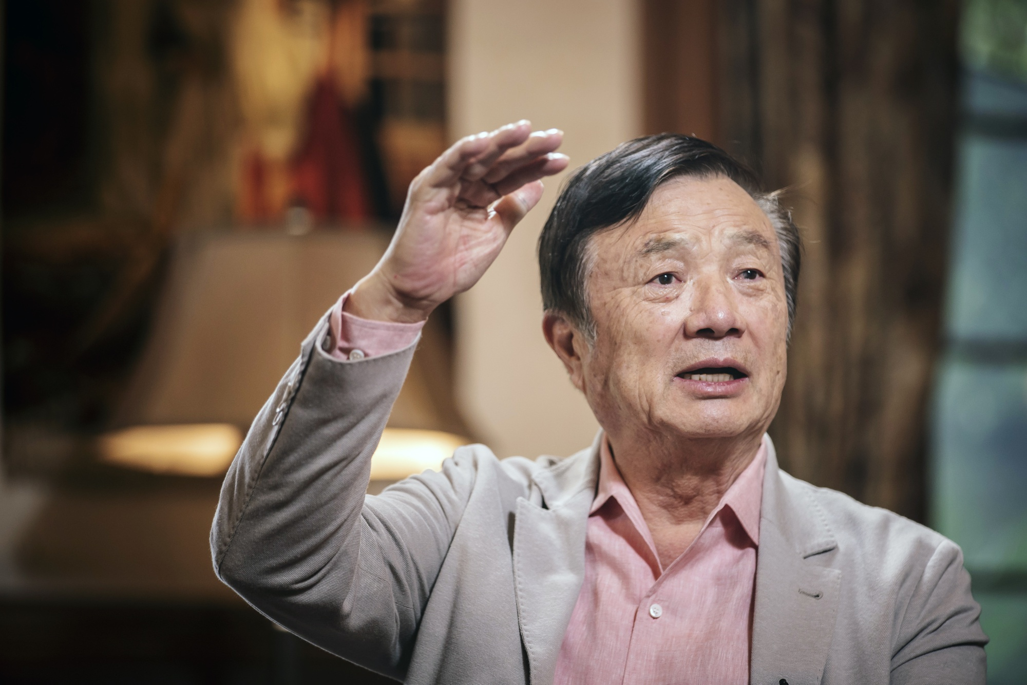 Huawei's Founder Wants an 'Invincible Iron Army' to Fight U S