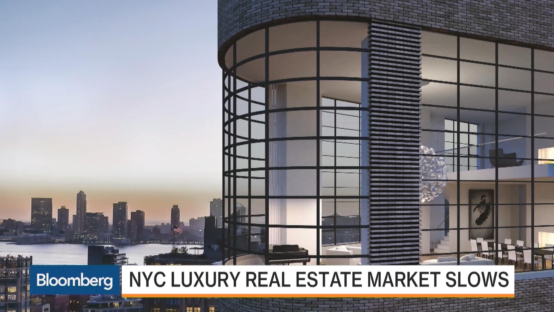 Nyc luxury real estate market slows bloomberg for Luxury nyc real estate