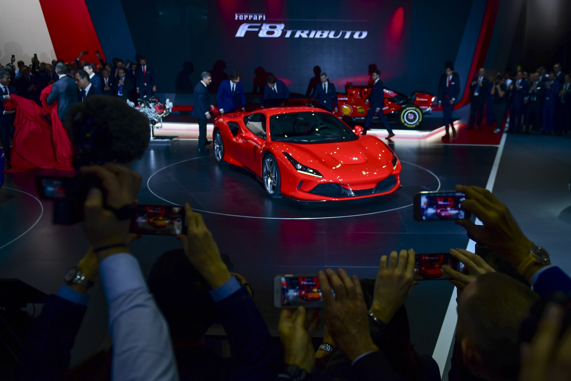 Ferrari Boosts 2020 Profit Estimate After Record Car Sales Bloomberg