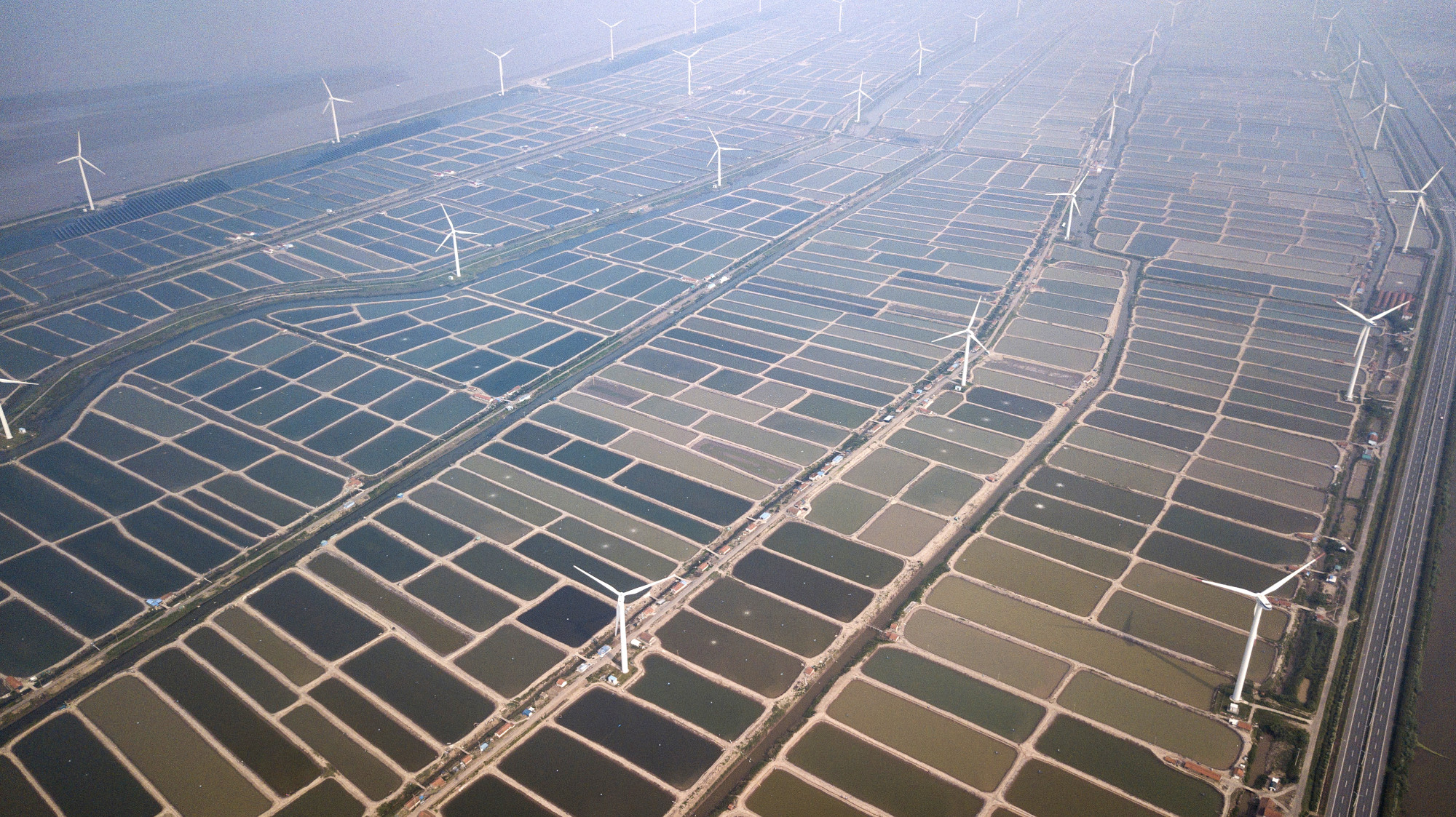 China Huaneng Group Windfarm in Eastern China