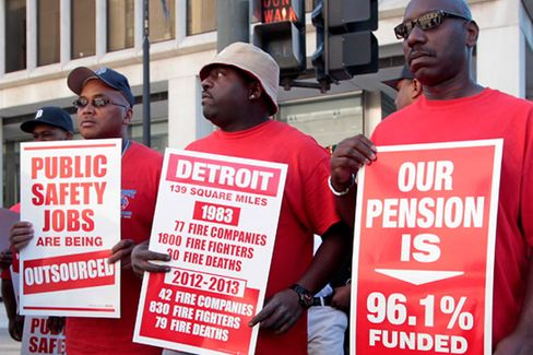 Detroit's Pension Funds Dogged by Bad Deals