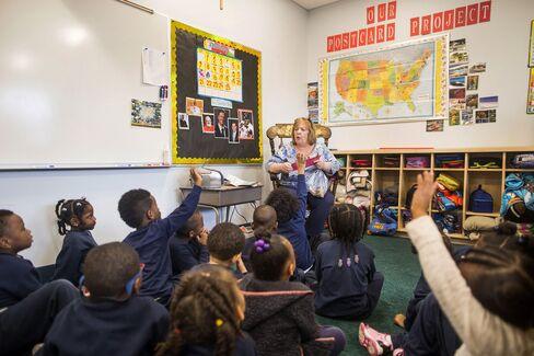 A kindergarten class