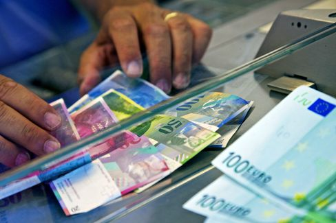 Swiss Ponder Battle Over Runaway Franc