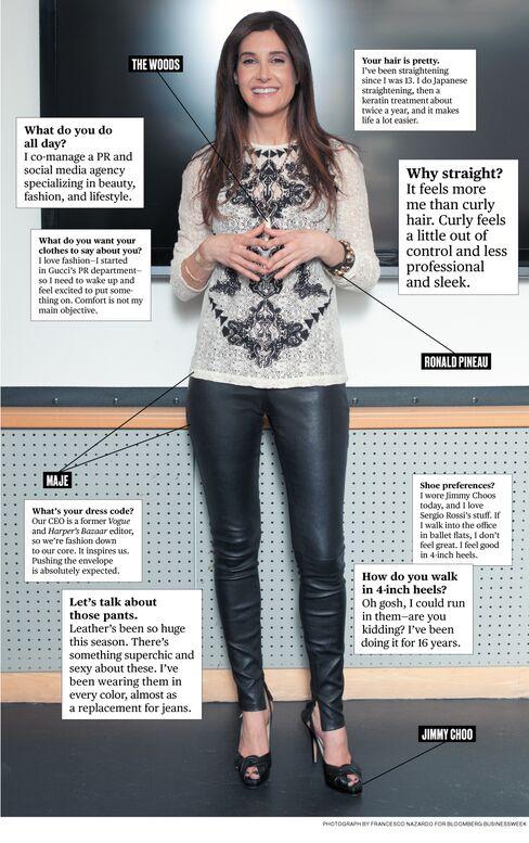 What I Wear to Work: ShopPR's Adrienne Bavar