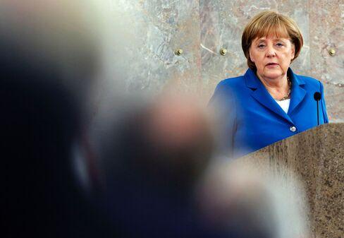 Pulling Plug on Greece Sells in German Town Opposing Merkel Plan