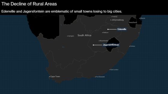 South African Towns Are Falling Apart