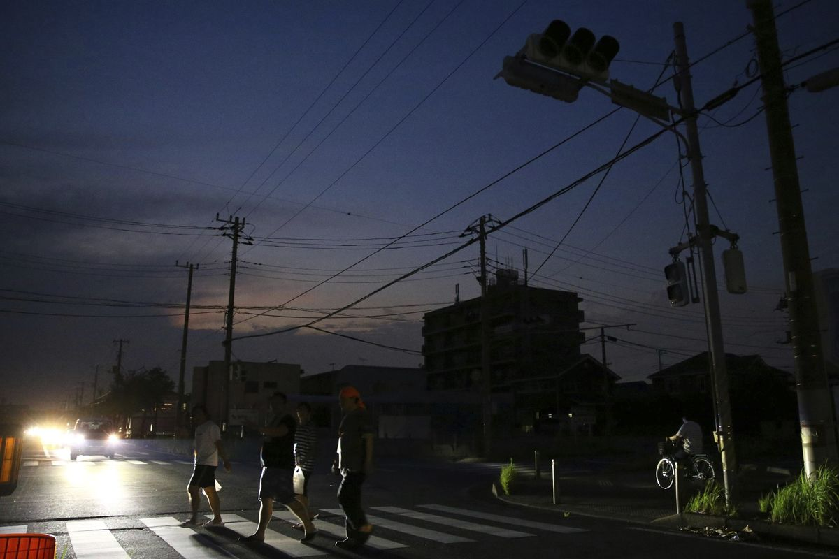 Japan's Biggest Utility Struggles to Restore Power After Record Storm