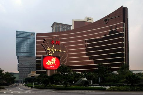 Wynn Macau Jumps to Record After First-Quarter Profit Surges