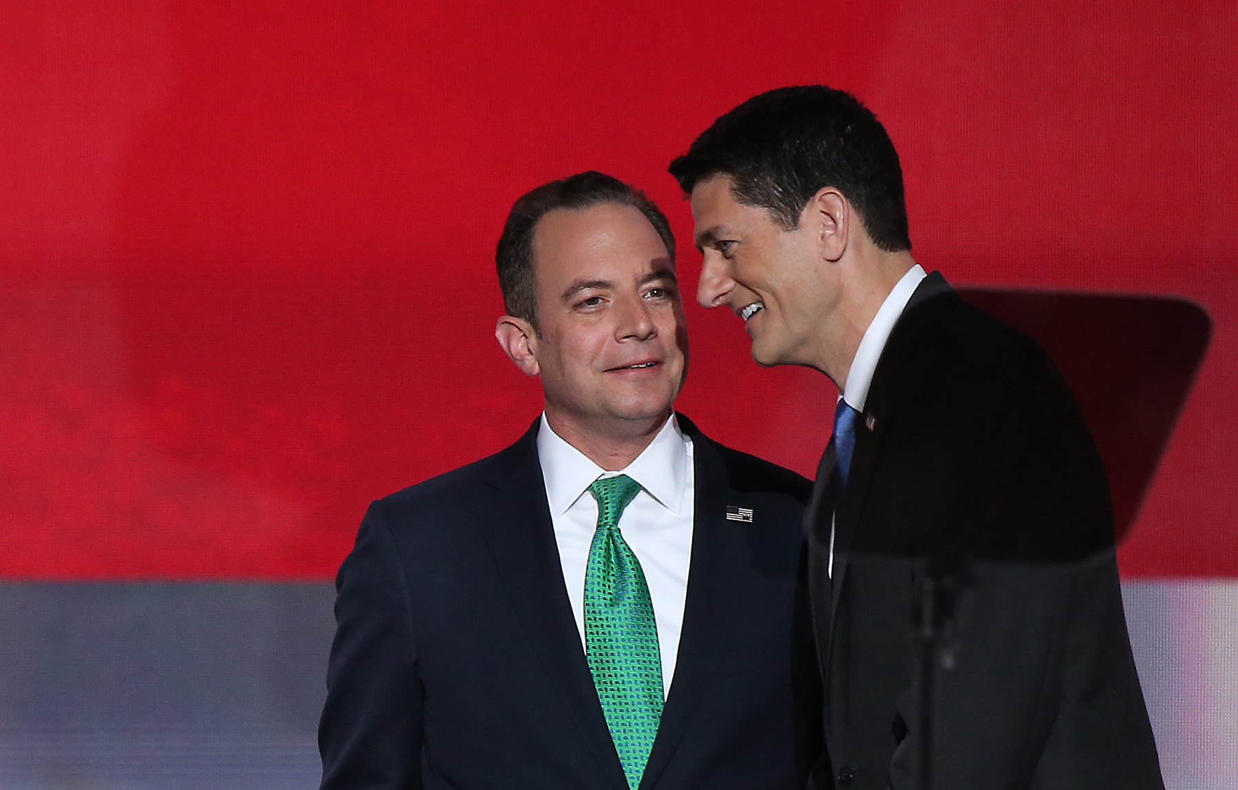 Reince Priebus, left, and Paul Ryan