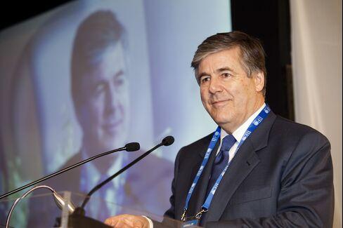 Deutsche Bank AG Chairman and CEO Josef Ackermann