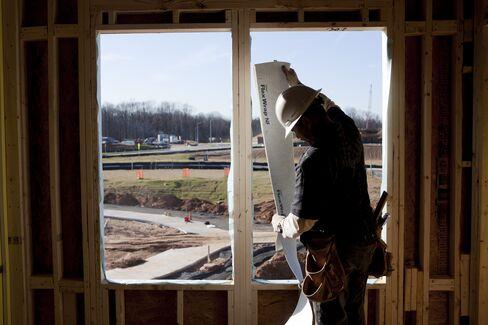 U.S. Homebuilders Confidence Highest Since '07