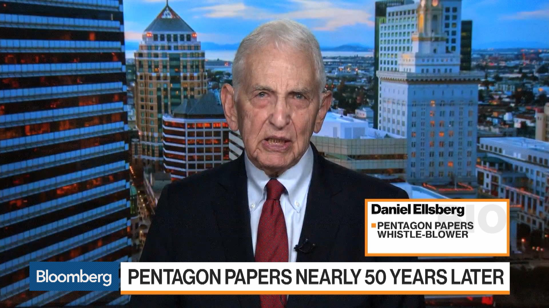 Daniel Ellsberg Reflects on the Pentagon Papers Nearly 50 Years Later